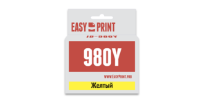 Картридж LC-980Y / LC-1100Y желтый для Brother