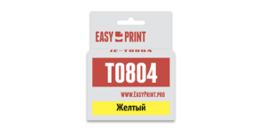 Картридж T0804 / C13T08044011  желтый для Epson