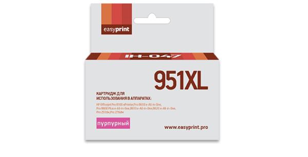 Картридж CN047AE №951XL пурпурный  для HP