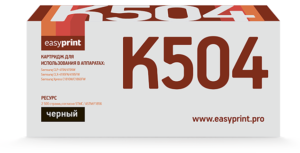 Картридж CLT-K504S  черный для Samsung