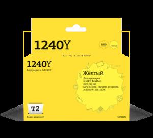 Картридж LC-1240Y  желтый  для Brother