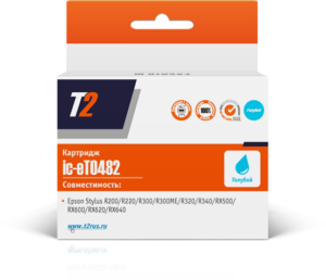 Картридж T0482 / C13T048240 голубой для Epson