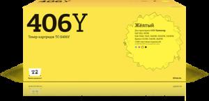 Картридж CLT-Y406S желтый для Samsung