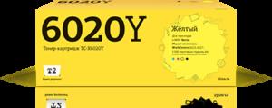 Тонер-картридж 6020Y / 106R02761 желтый для Xerox